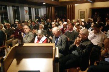 Publikum im großen Saal